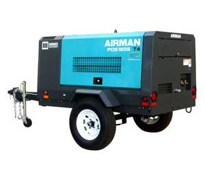 Air compressor rentals in East Texas