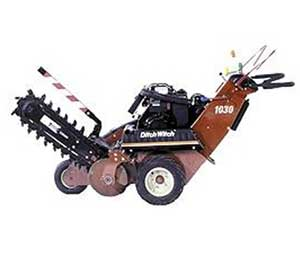 Trencher rentals in East Texas