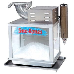 snow cone machine tx