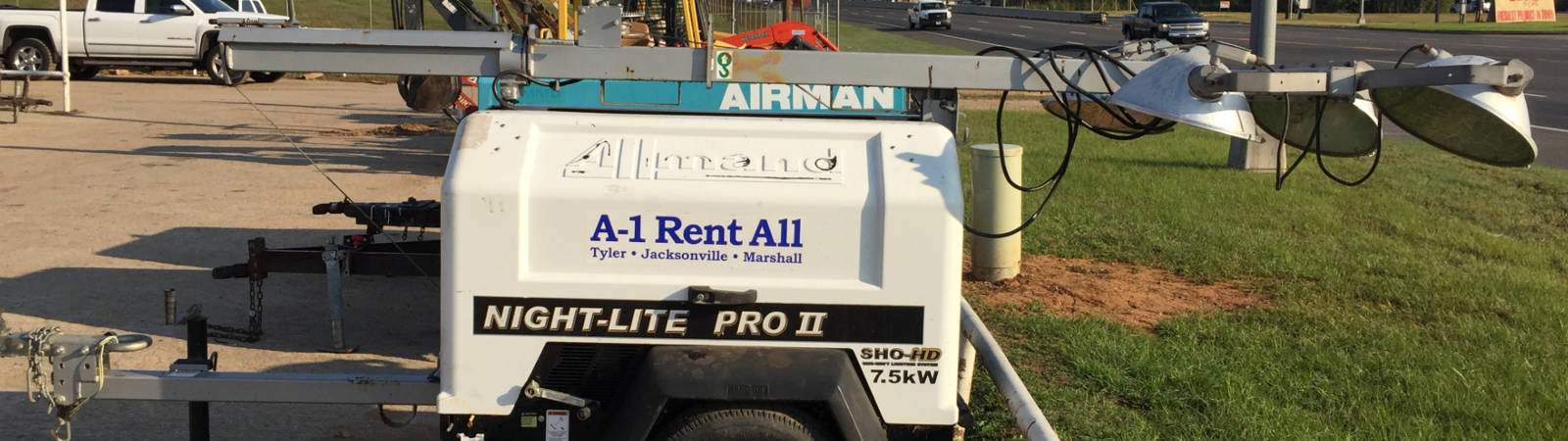 Equipment Rentals in East Texas